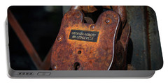 Rusty Lock Portable Battery Charger