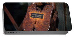 Portable Battery Charger featuring the photograph Rusty Lock by Doug Camara