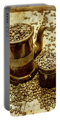 Rusty Old Cafe Still Life Artwork Portable Battery Charger