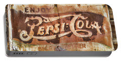 Rusty Pepsi Cola Portable Battery Charger