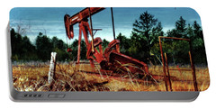 Rusty Pump Jack Portable Battery Charger
