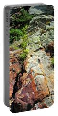 Rusty Rock Face Portable Battery Charger