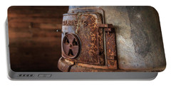 Portable Battery Charger featuring the photograph Rusty Stove by Doug Camara