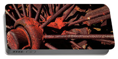 Rusty Wheel Portable Battery Charger