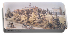 Rutgers College In New Brunswick New Jersey 1849 Portable Battery Charger