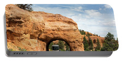 Rv Red Canyon Tunnel Utah Portable Battery Charger