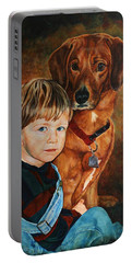 Ryan And Moses Portable Battery Charger