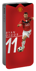 Ryan Giggs Portable Battery Charger by Semih Yurdabak