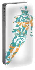 Ryan Tannehill Miami Dolphins Pixel Art 4 Portable Battery Charger
