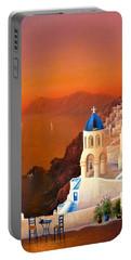 Santorini Portable Battery Charger by Joe Gilronan