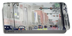 S. Main Street In Ann Arbor Michigan Portable Battery Charger