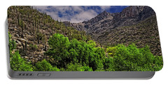 Portable Battery Charger featuring the photograph Sabino Canyon H33 by Mark Myhaver