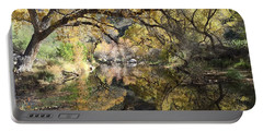 Sabino Canyon In Fall Portable Battery Charger