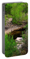 Portable Battery Charger featuring the photograph Sabino Canyon Op44 by Mark Myhaver