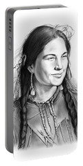 Sacagawea Portable Battery Charger by Greg Joens