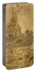 Paris, France - Sacre-coeur Oldplate Portable Battery Charger