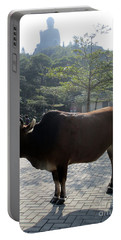 Portable Battery Charger featuring the photograph Sacred Cow 3 by Randall Weidner