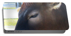 Portable Battery Charger featuring the photograph Sacred Cow 4 by Randall Weidner