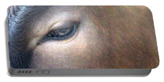 Portable Battery Charger featuring the photograph Sacred Cow 5 by Randall Weidner