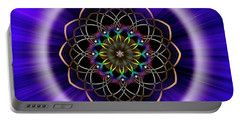 Sacred Geometry 242 Portable Battery Charger