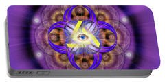 Sacred Geometry 639 Portable Battery Charger