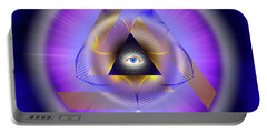 Sacred Geometry 642 Portable Battery Charger