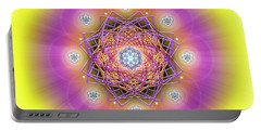 Sacred Geometry 643 Portable Battery Charger