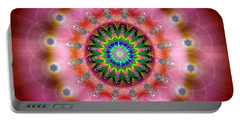 Sacred Geometry 644 Portable Battery Charger