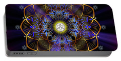 Sacred Geometry 647 Portable Battery Charger