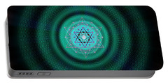Sacred Geometry 651 Portable Battery Charger