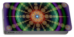 Sacred Geometry 652 Portable Battery Charger