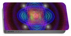 Sacred Geometry 654 Portable Battery Charger