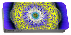 Sacred Geometry 655 Portable Battery Charger