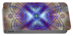 Sacred Geometry 656 Portable Battery Charger