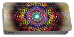 Sacred Geometry 657 Portable Battery Charger