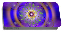Sacred Geometry 658 Portable Battery Charger