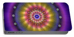 Sacred Geometry 659 Portable Battery Charger