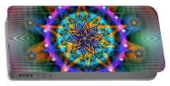 Sacred Geometry 661 Portable Battery Charger