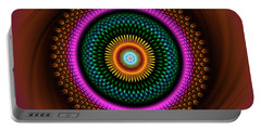 Sacred Geometry 664 Portable Battery Charger