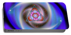 Sacred Geometry 687 Portable Battery Charger