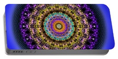Sacred Geometry 708 Portable Battery Charger