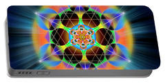 Sacred Geometry 709 Portable Battery Charger