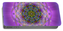 Sacred Geometry 715 Portable Battery Charger