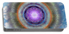 Sacred Geometry 716 Portable Battery Charger