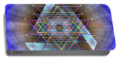 Sacred Geometry 717 Portable Battery Charger