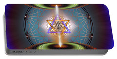 Sacred Geometry 718 Portable Battery Charger