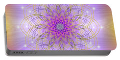 Sacred Geometry 721 Portable Battery Charger