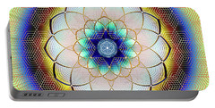 Sacred Geometry 723 Portable Battery Charger