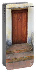 Sacred Heart Door Portable Battery Charger