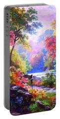 Sacred Landscape Meditation Portable Battery Charger